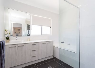 Bathroom built by Highlife Homes