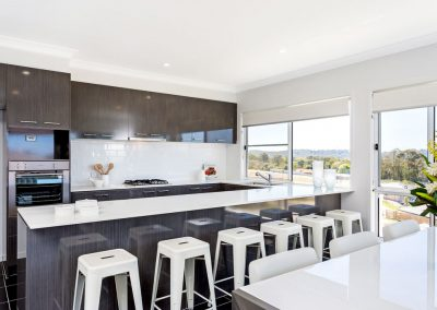 Kitchen built by Highlife Homes