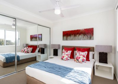 Bedroom built by Highlife Homes