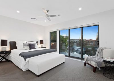 Master bedroom built by Highlife Homes