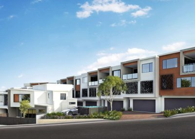 12 Townhouses – Tweed Heads