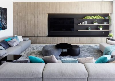 Entertainment Unit Cabinetry by Highlife Homes