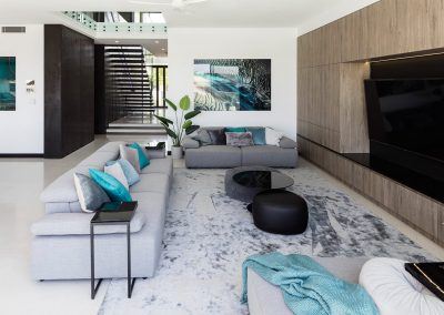 Luxury Living Room by Highlife Homes