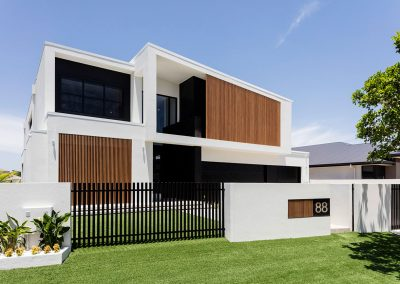 Luxury Modern Facade by Highlife Homes