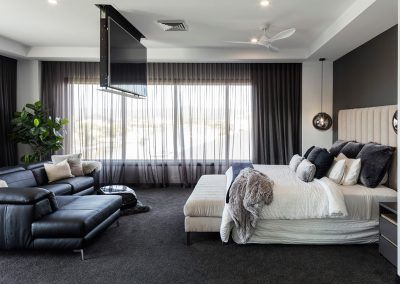 Luxury Master Bedroom by Highlife Homes