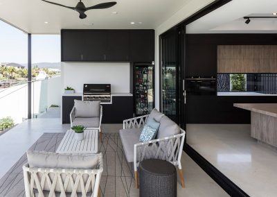Outdoor Kitchen by Highlife Homes